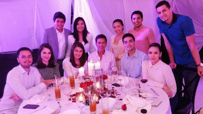 Touching moments in Paulina Sotto-Jed Llanes engagement