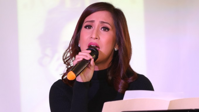 Jolina Magdangal dedicates song to Direk Wenn