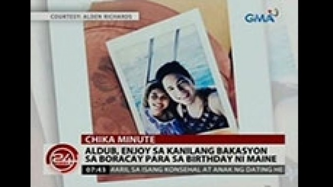 Alden Richards, Maine Mendoza enjoy Boracay vacay together