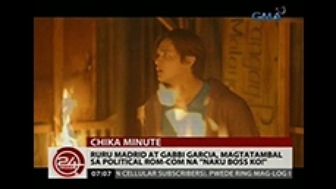 Ruru Madrid escapes from real burning house in new show