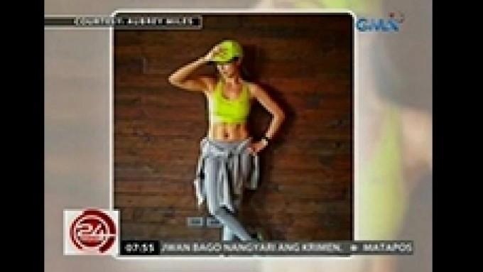 Fab female celeb fitspiration workouts