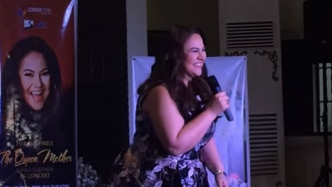 Karla Estrada sings 'Alone'