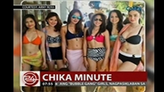 Bubble Gang girls flaunt their sexy beach bodies