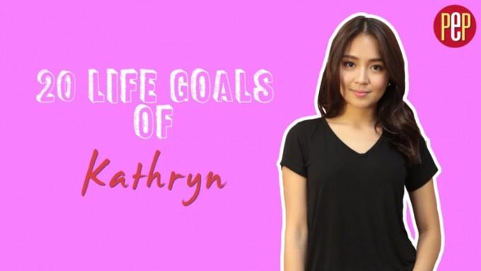 Kathryn Bernardo shares her '20 Life Goals'