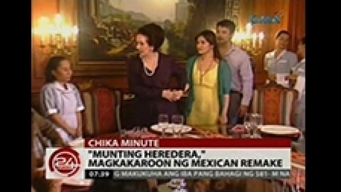 GMA-7's Munting Heredera to have Mexican remake