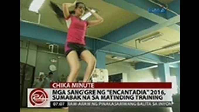 The Sang'gres start physical training for their roles