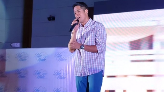 "Aljur Abrenica performs ""Sugar"""