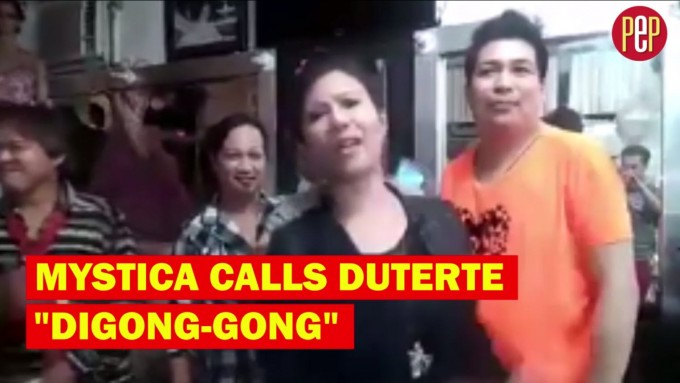 Mystica goes beast mode on Duterte