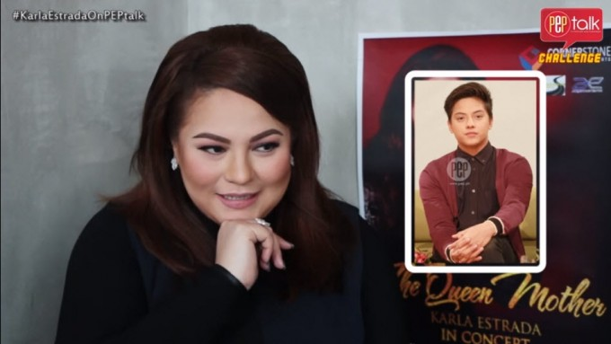Karla Estrada sings for Daniel, Kathryn, and others