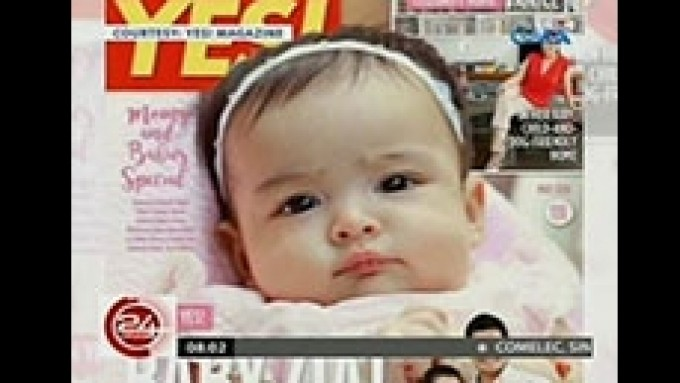 Baby Zia lands first magazine cover
