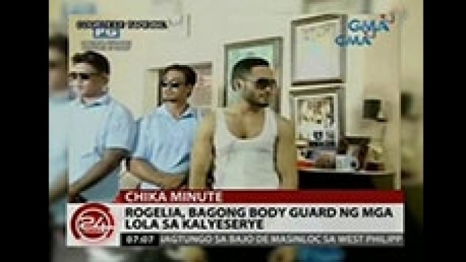 Who is 'Rogelia' the new bodyguard of the Kalyeserye lolas?