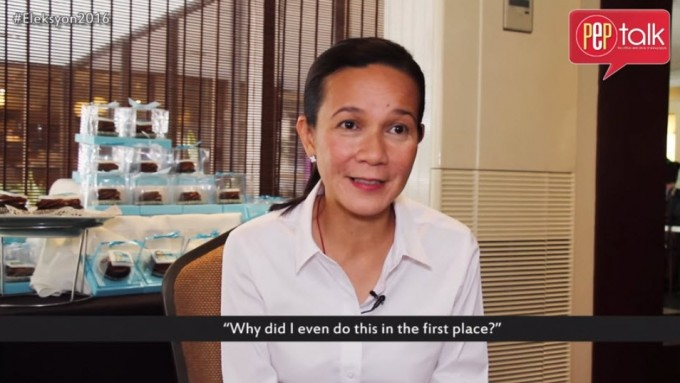 Grace Poe on what gives her strength to face critics