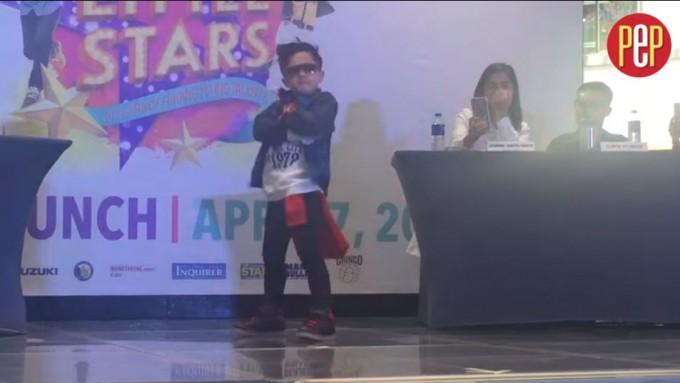 'Mini Me' winner murders the dancefloor