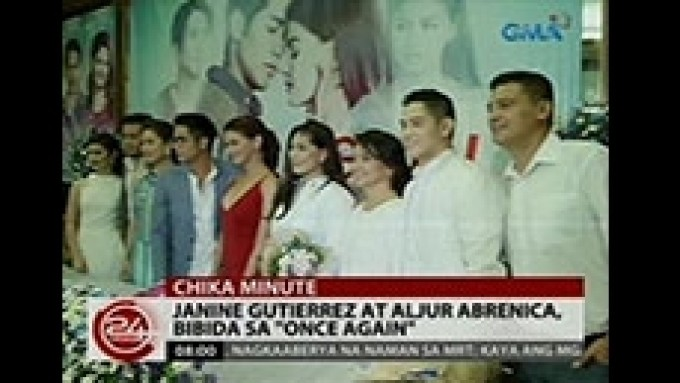 Janine Gutierrez and Aljur Abrenica in 'Once Again'
