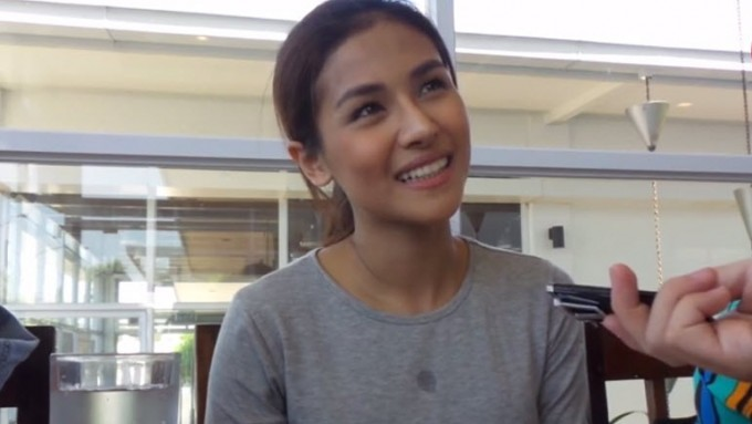 Rock band lead singer's brod coached Sanya Lopez's acting