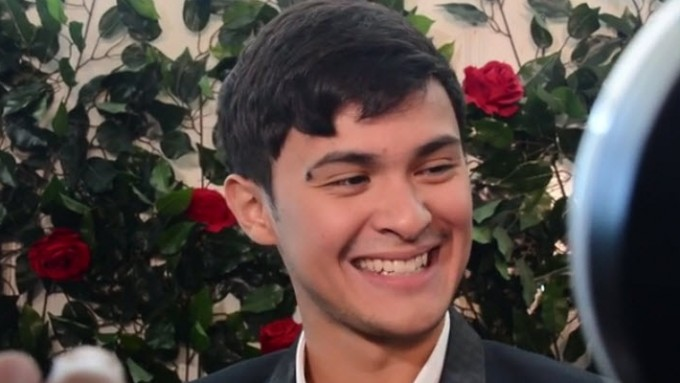 Matteo Guidicelli: 'My head is so full of Sarah.'