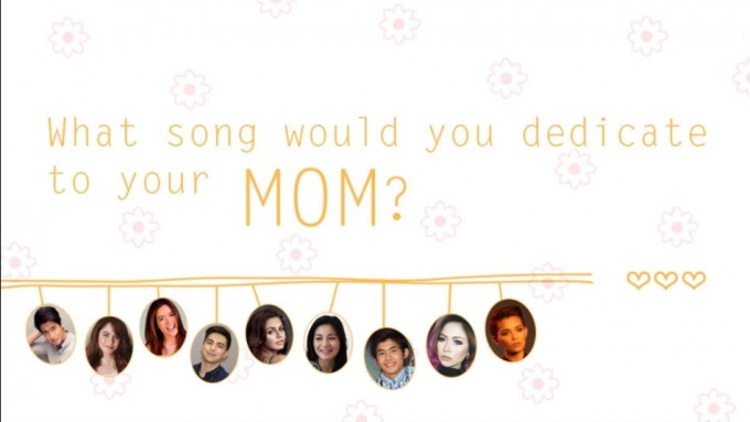 Celebrity Mother's Day song greetings