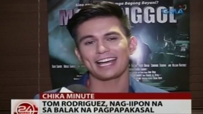 Tom Rodriguez would love to start a family soon