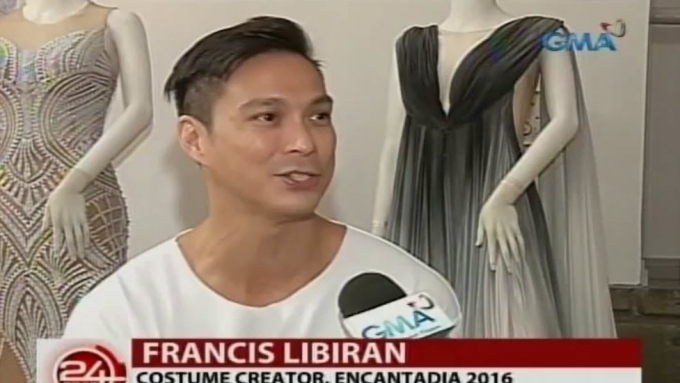 Francis Libiran's extensive research for Sang'gre costumes