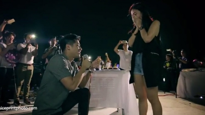Kaye Abad-Paul Jake Castillo surprise wedding proposal