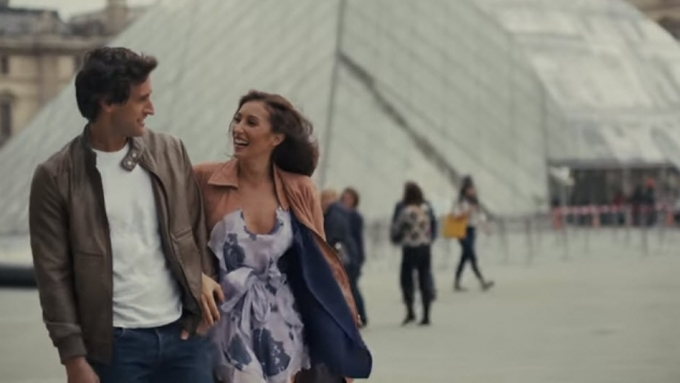 Solenn Heussaff and Nico Bolzico in Louvre!