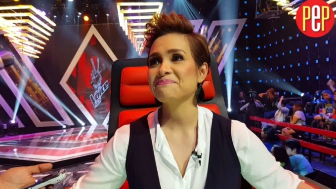 How supportive is Lea Salonga to Esang de Torres?