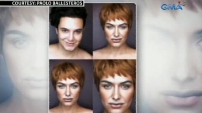 Paolo Ballesteros transforms into <em>Game of Thrones</em> ladies