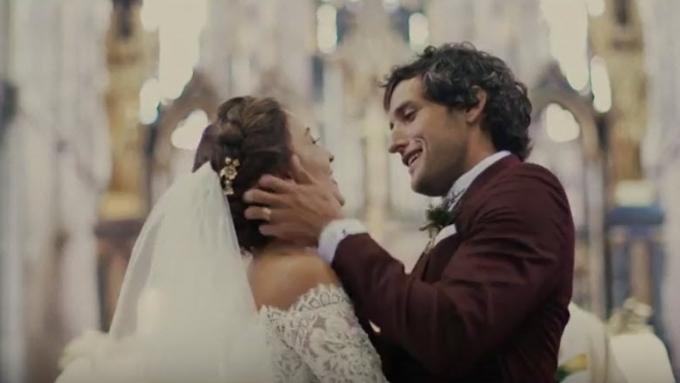 Solenn Heussaff-Nico Bolzico wedding video