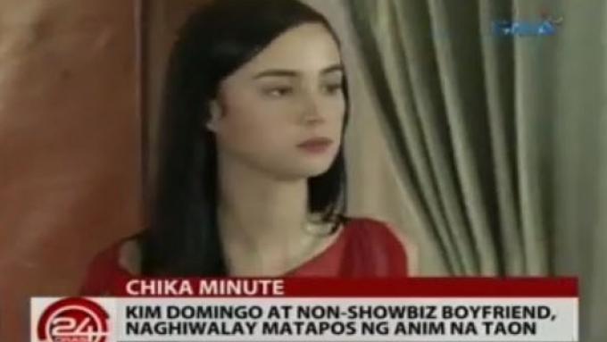 Kim Domingo splits up with boyfriend of six years