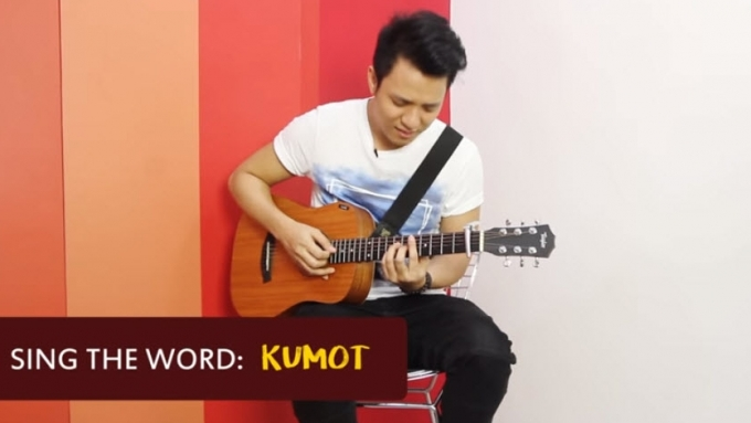 TJ Monterde puts melodies on ramdom words