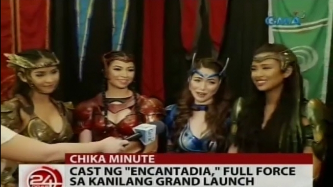 Encantadia also launches mobile app
