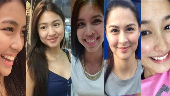 Beautiful Pinays without makeup
