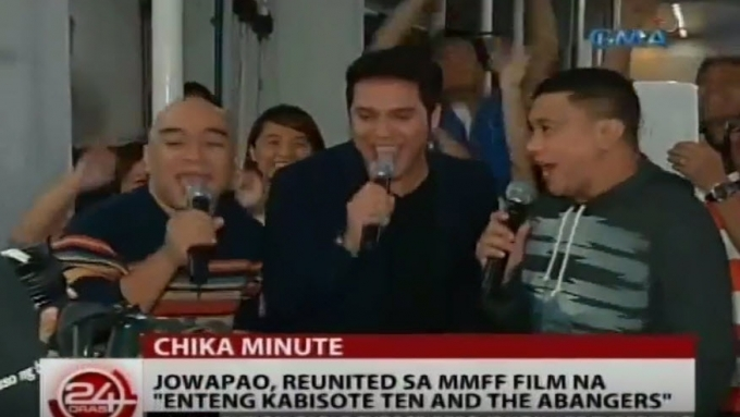 JoWaPao reunited in Enteng Kabisote 10 and the Abangers
