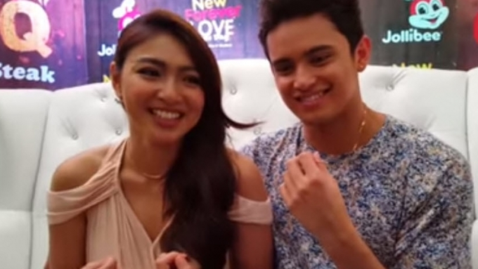 Nadine and James on what they like about each other