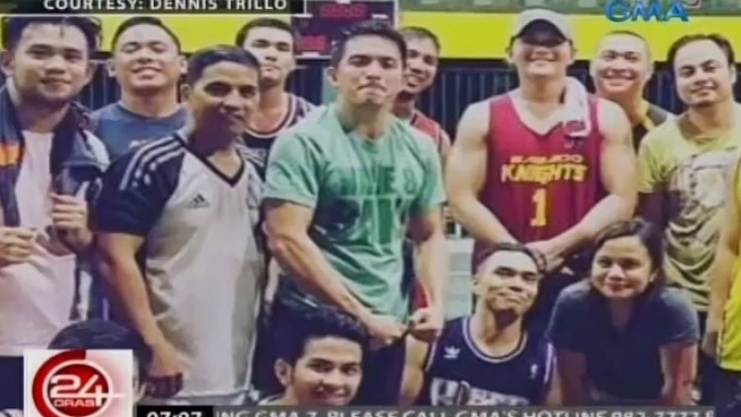Dennis Trillo addicted to playing basketball and drums