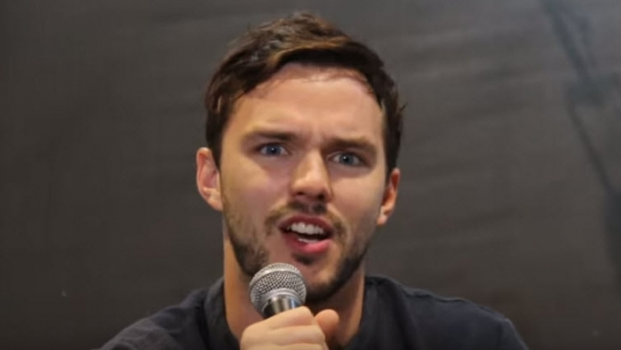 Nicholas Hoult describes feeling working with Hugh Jackman