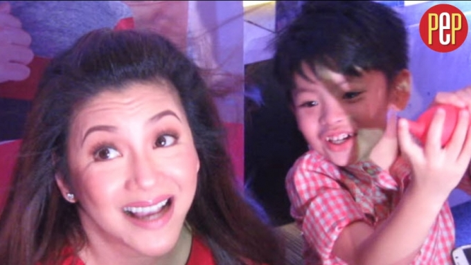 Regine Velasquez says son Nate loves beautiful women