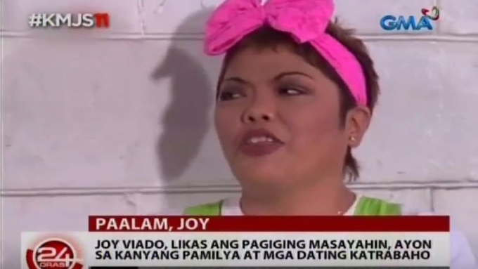 Epy Quizon remembers Joy Viado as 'life of the party'