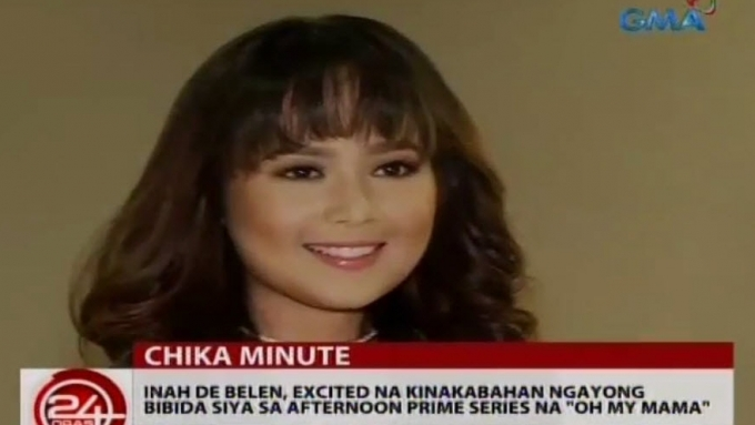 Inah de Belen excited and nervous for first teleserye