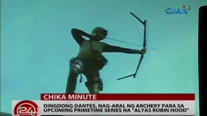 Dingdong Dantes studied archery for role