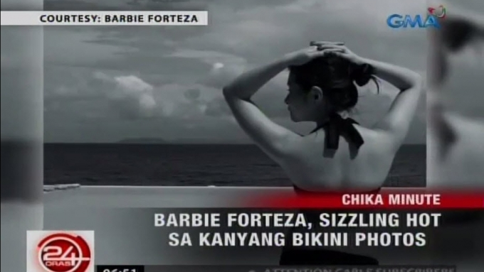 Barbie Forteza sizzles in bikini photos