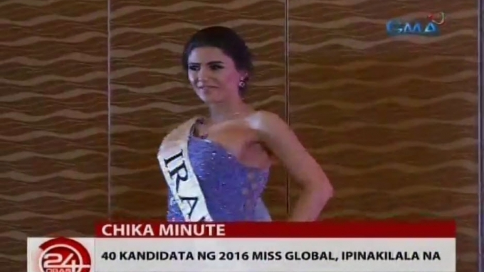 Bet from pageant-banned country joins Miss Global 2016