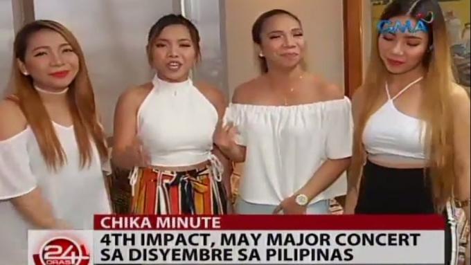 4th Impact announces major concert in Manila this December
