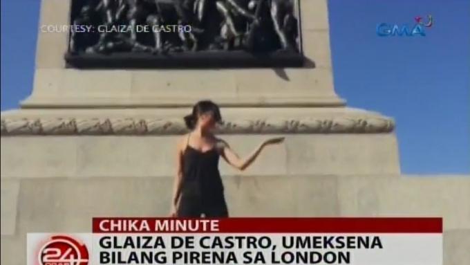 Glaiza de Castro takes