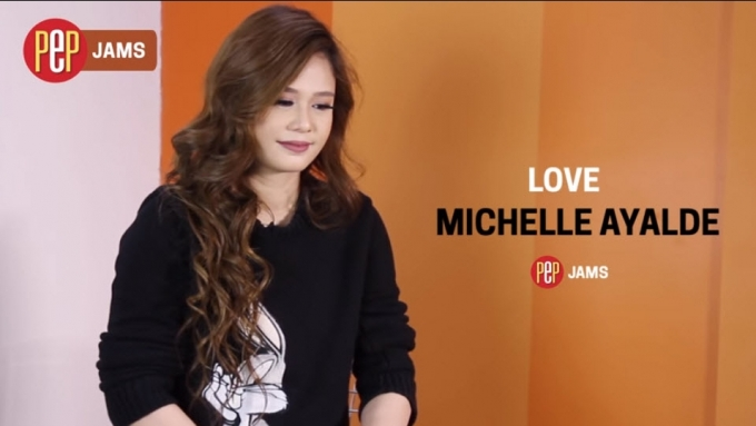 PEP JAMS. Michelle Ayalde sings 'Love'