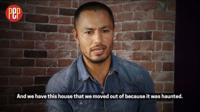 Derek Ramsay and the 'dog-killing ghosts'