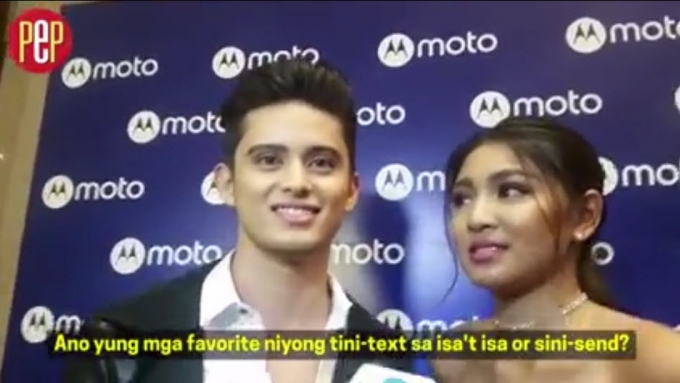 James and Nadine's relationship goes beyond texts... why?
