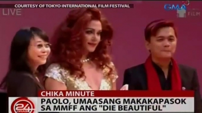 Paolo Ballesteros recalls awards