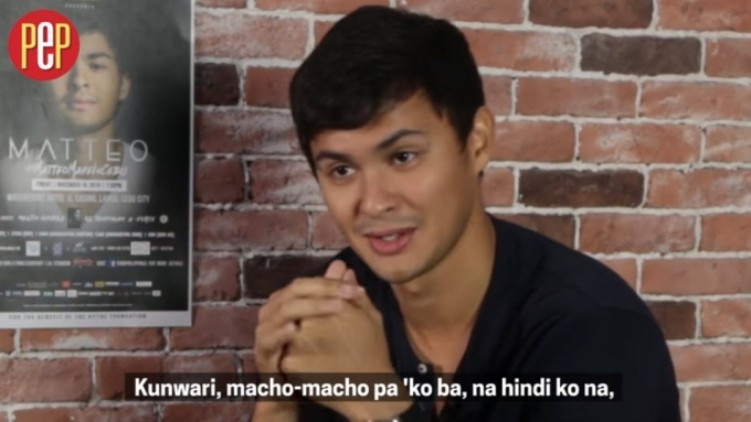 Matteo recalls time he tried to impress then-crush Sarah