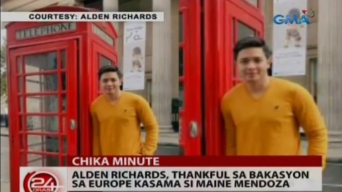 Alden Richards' religious experience during Europe trip